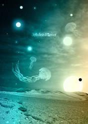 Jellyfish Planet by mornosm