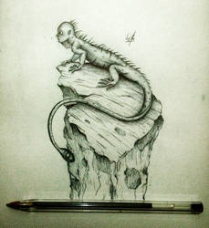 Lizard by mornosm