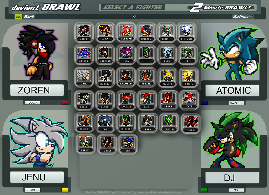 Brawl Screen selection by Zoren-Sosa