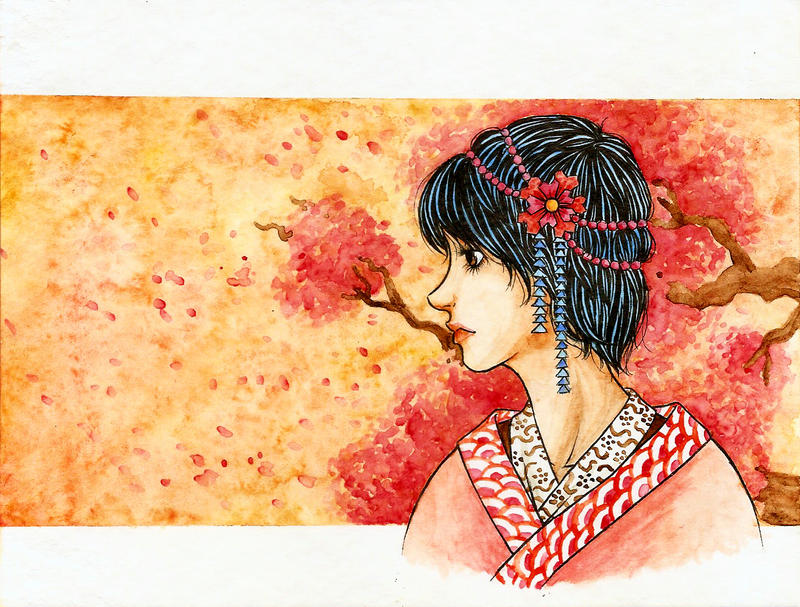 Kokeshi by Natalia-Luz