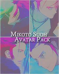 Mikoto Suoh Avatar Pack #1 by HazeTakumi