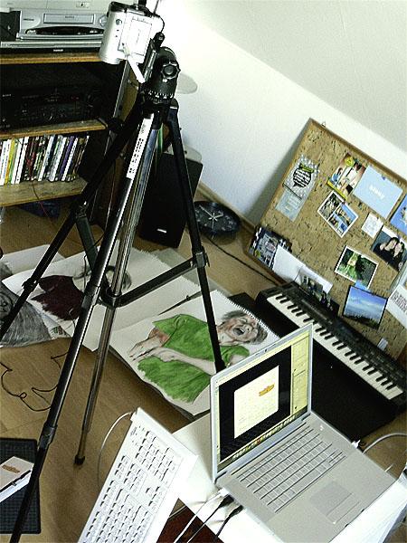 My 'studio' :D
