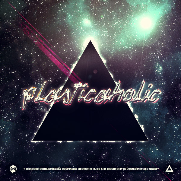 plasticaholic cd cover by logaan