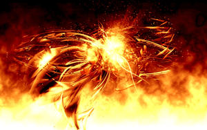 3D Abstract.fire by logaan