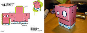 'Elliot' flatpack toy