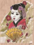 geisha in colour