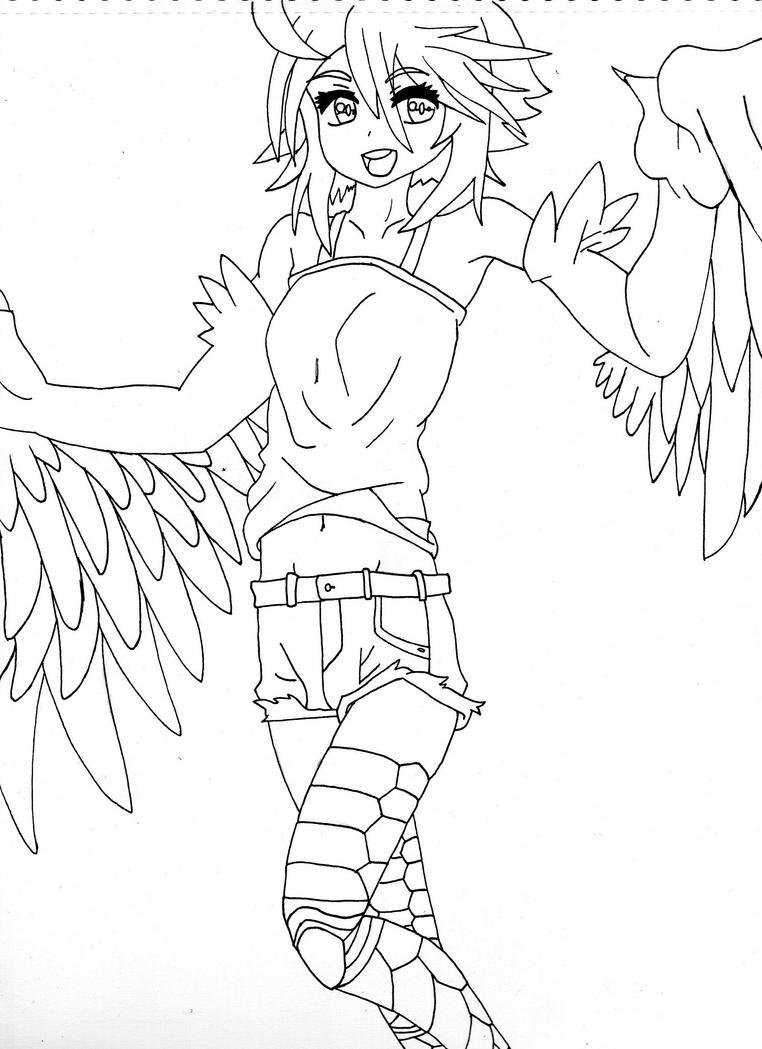 Papi the Harpy by darkecofrk