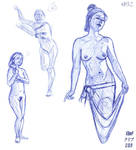 Figure Drawing 2-13-08 by MutantPenguin