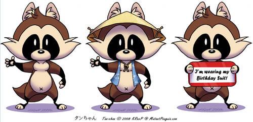 Tan-chan 2008 by MutantPenguin