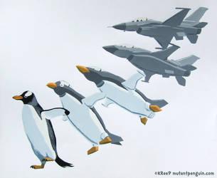 Penguin Transform! by MutantPenguin