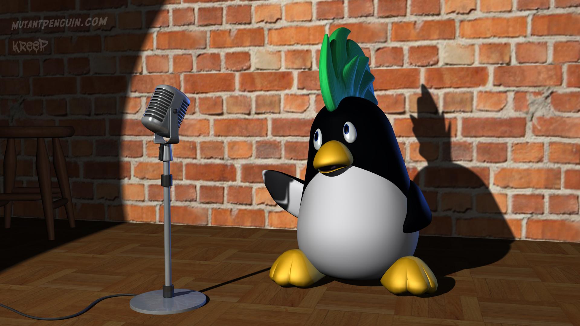 Mutant Penguin CG