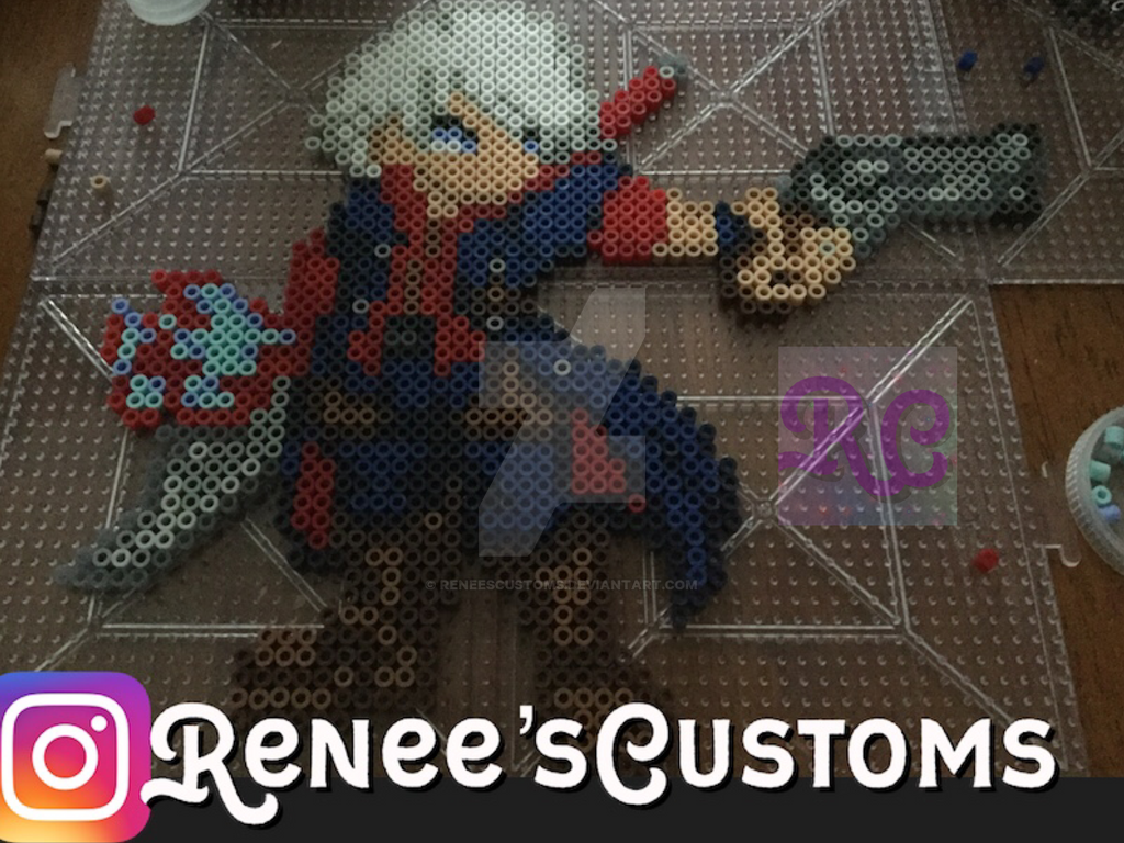 Devil May Cry 4 Nero perler by ReneesCustoms
