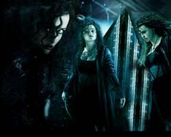 Bellatrix Lestrange Wallpaper by FundamentumStudios
