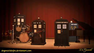 Tardis Band by DrGenocideSFM