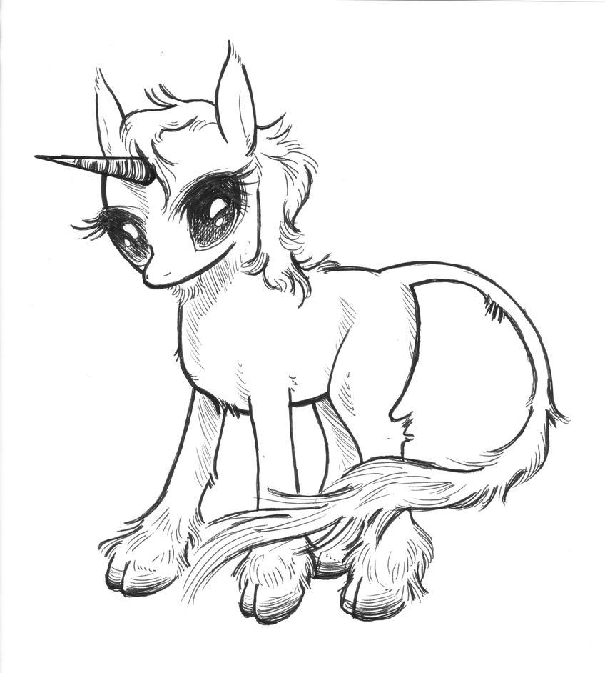 Last unicorn coloring pages photo2