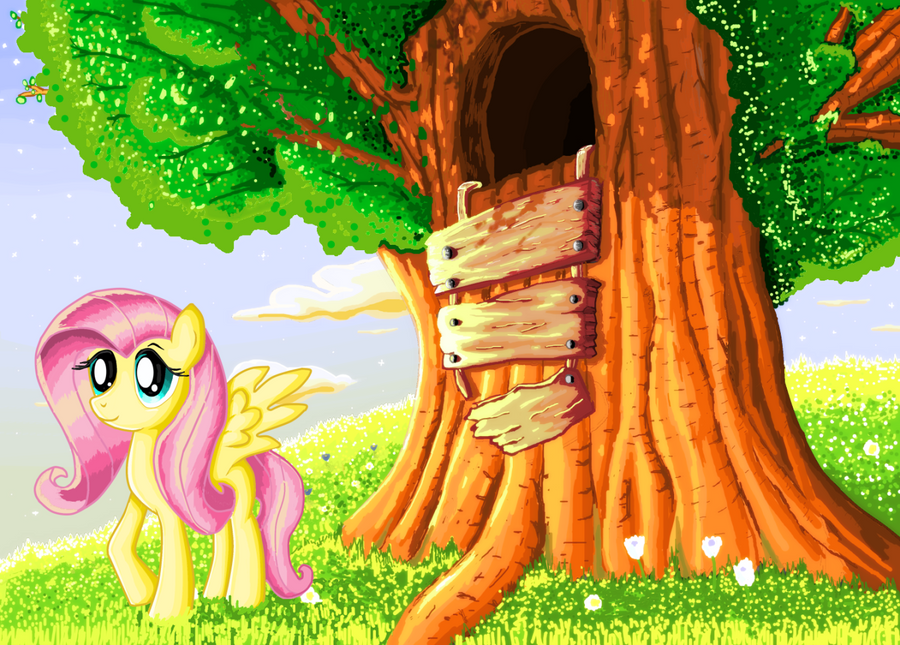Fluttershy by ShadowHunterCIS