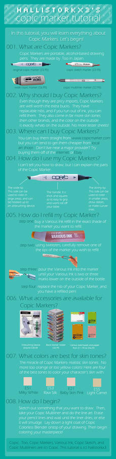 copic marker tutorial