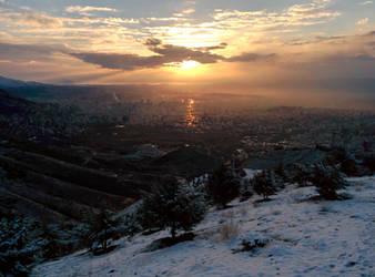 Tehran Sunrise by silverboy65
