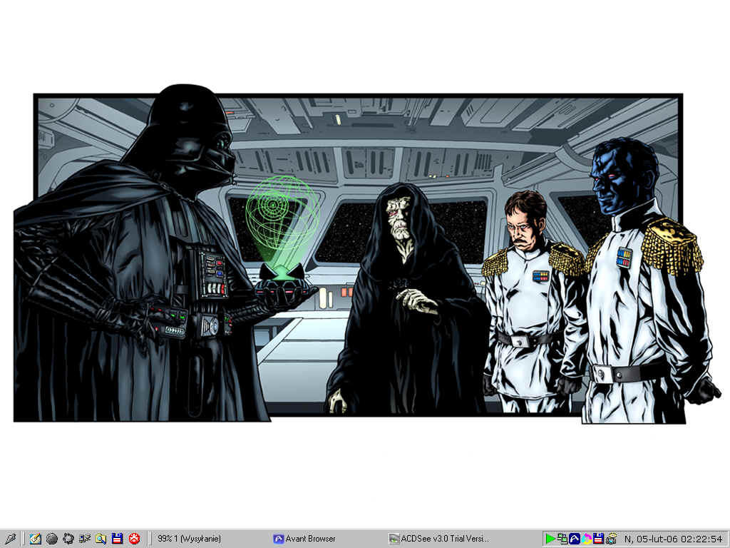 Dart Vader, Thrawn, Palpatine. by NaVaRski