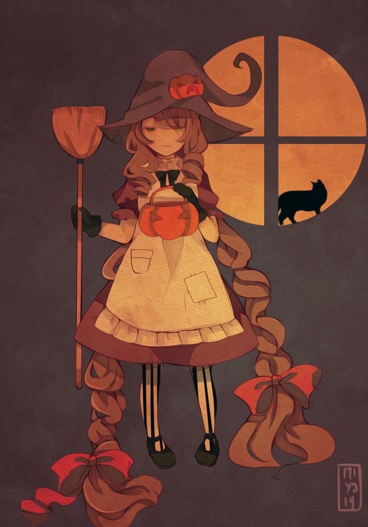 +October is coming + by Miyalin