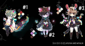 [Adopt Auction] Suiseis Batch #01 (CLOSED)