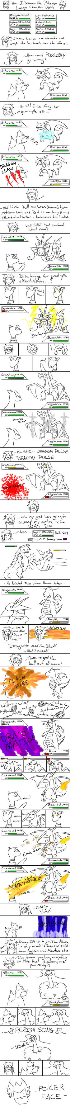 How I Became the Pokemon League Champion (Again) by EternalxBond
