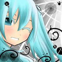 Smile :D Hatsune Miku by masterChan