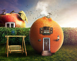 Edible House by Barnyss