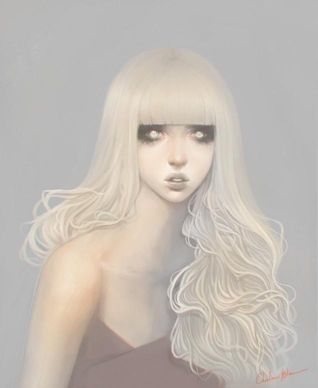 Pale Blonde by bilopsis