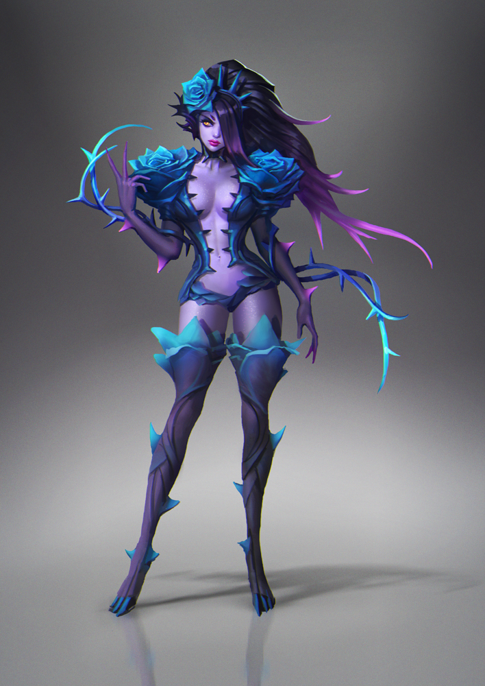 Blue Rose Zyra by bilopsis