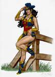 Wonder Wonder Cowgirl version 2 by mrno74