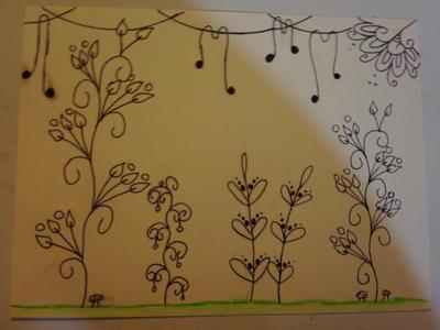 Zentangle Plants By Soul Wolf Of Spirits On Deviantart