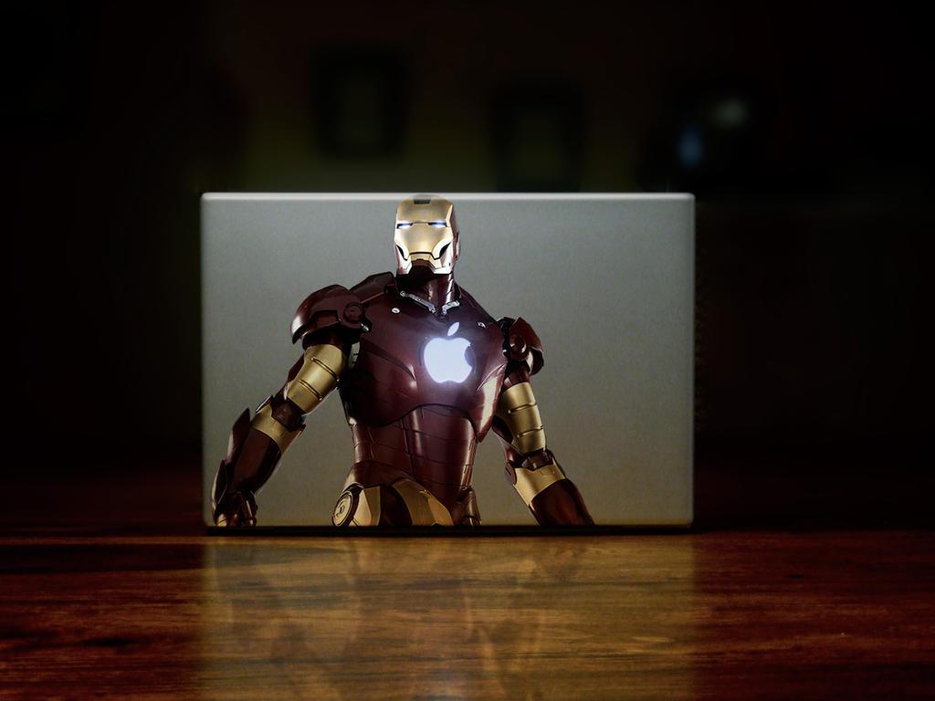 Most Inspiring Wallpaper Macbook Iron Man - macbook_ironman_by_hamsher  Picture_873412.jpg