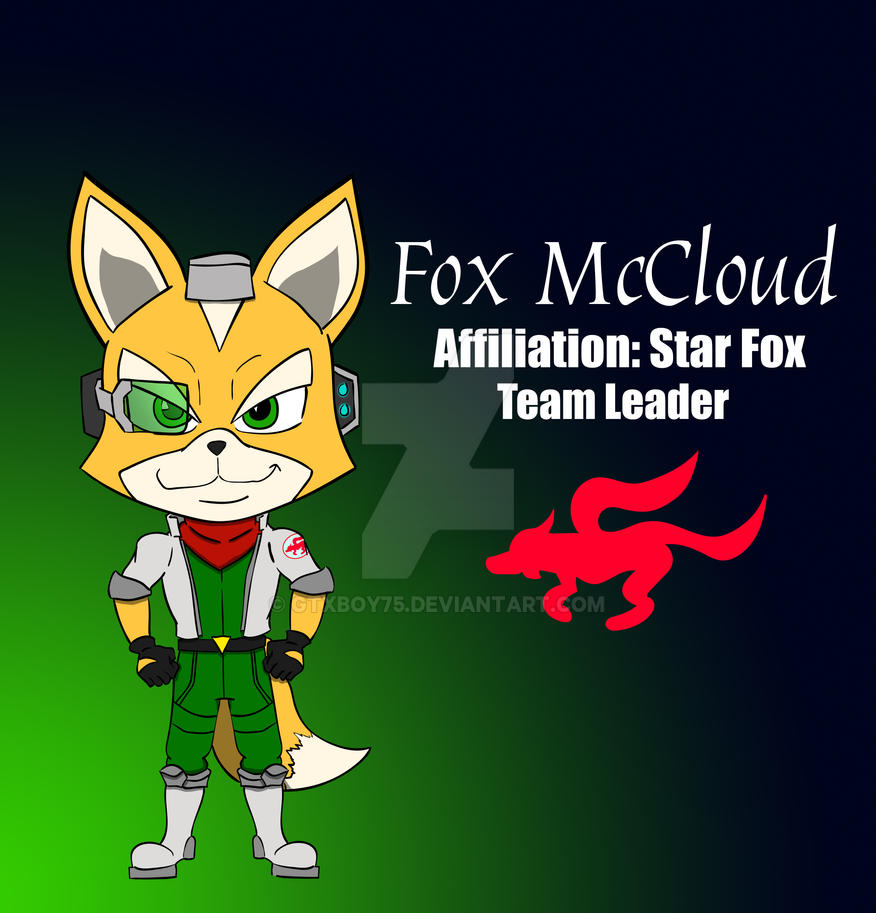 Star Fox: Leader- Fox McCloud by GTXboy75 on DeviantArt