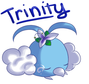 (ACE) The VIRIDIAN Team - Page 2 Trinity_the_swablu_by_windstune-d4as58u