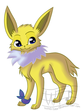 (ACE) The UNDER Team  - Page 6 Koin_the_jolteon_by_windstune-d4d2b6c