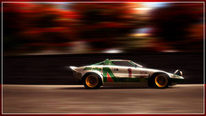 Lancia Stratos by franzart