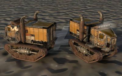 Dyazon Transport Truck by TheShadowhisperer
