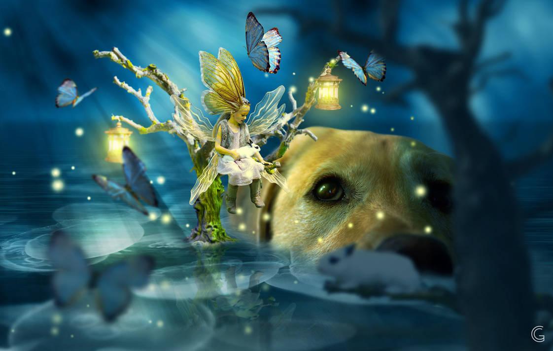 Little fairy by gonnguyen