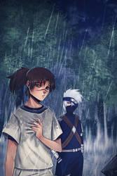 Kakashi and Iruka by Morromo