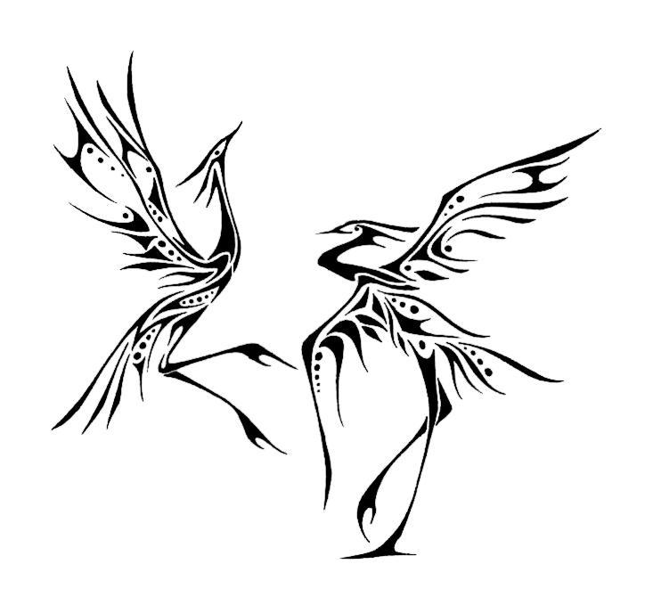 Crane Dance by Ananova