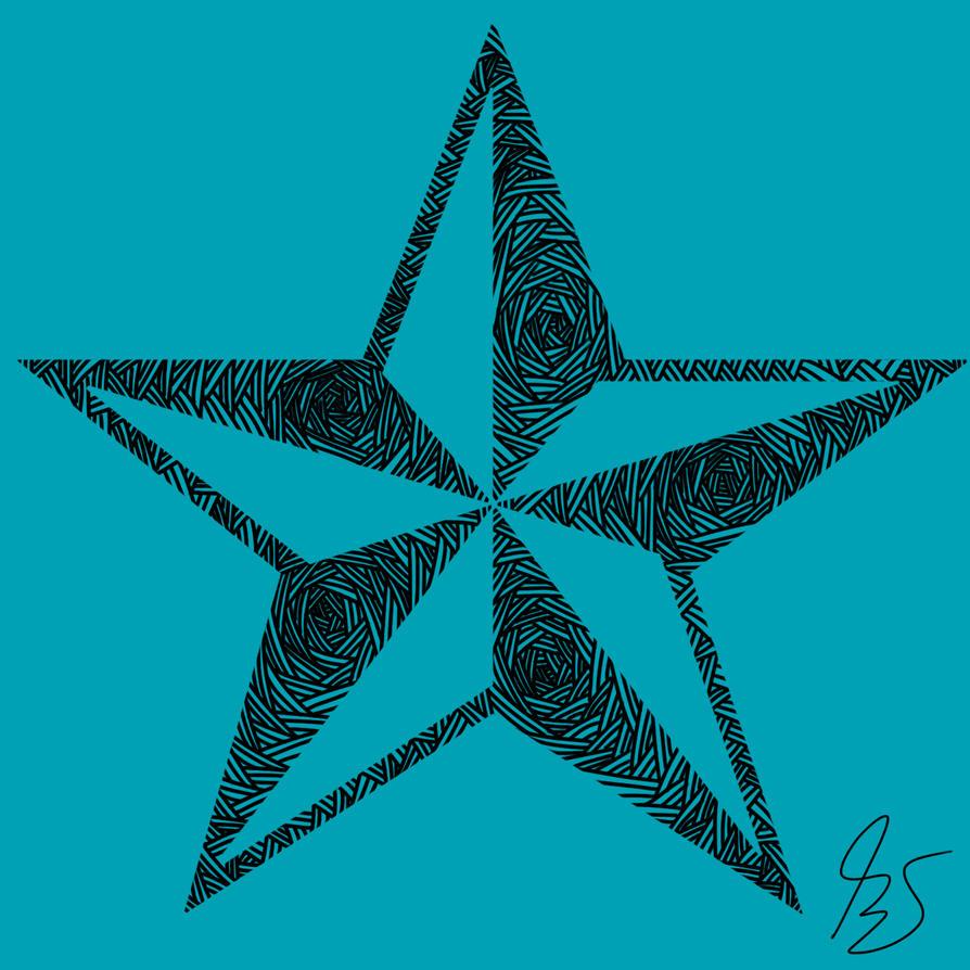 Line Art Star : Star line art by bs on deviantart