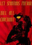 Communist Halo Poster