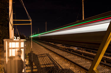 Train Long Exposure by BS4711