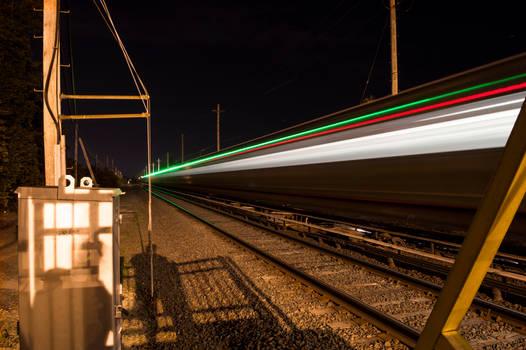 Train Long Exposure