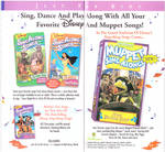Disney and Muppet Sing Along Songs Ad