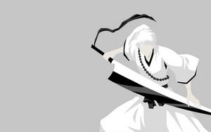 Zangetsu (White Ichigo) - Bleach by Dingier