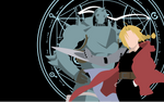 Edward Elric and Alphonse Elric - FMA