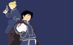 Roy Mustang and Riza Hawkeye - Fullmetal Alchemist