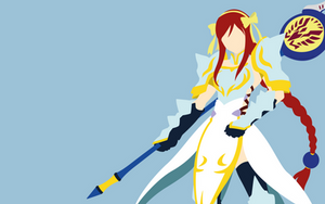 Erza Scarlet - Fairytail (Lighting Empress Armor) by Dingier